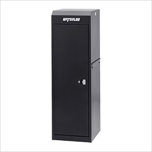 Professional HD Series Black Full Height Side Locker