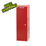 Waterloo Professional HD Series Red Full Height Side Locker