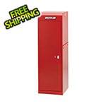 Waterloo Professional HD Series Red Full Height Side Locker