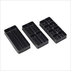 3-Piece Drawer Organization Trays / Bins