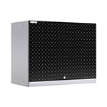 NewAge Products PERFORMANCE PLUS 2.0 Black Diamond Plate Wall Cabinet