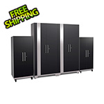 NewAge Products PERFORMANCE PLUS 2.0 Black Tall Cabinet Set