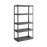Gladiator GarageWorks 36-Inch EZ Connect Rack with Five 18-Inch Deep Shelves
