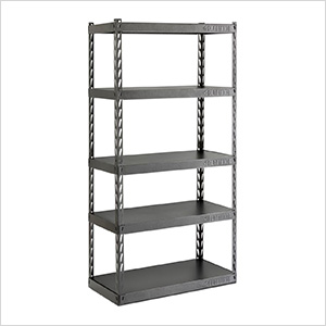 36-Inch EZ Connect Rack with Five 18-Inch Deep Shelves