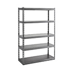 Gladiator GarageWorks 48-Inch EZ Connect Rack with Five 18-Inch Deep Shelves