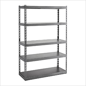 48-Inch EZ Connect Rack with Five 18-Inch Deep Shelves