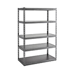 Gladiator GarageWorks 48-Inch EZ Connect Rack with Five 24-Inch Deep Shelves