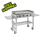 Blackstone Products 36-Inch Stainless Steel 4-Burner Outdoor Griddle