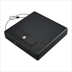 Large Portable Security Case with Biometric Lock