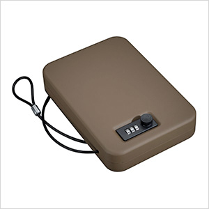 Portable Case with Combination Lock