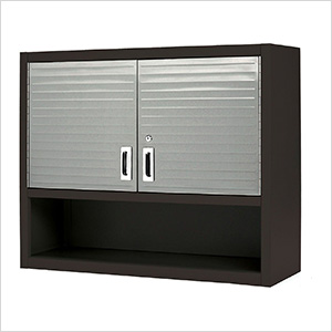 UltraHD Wall Cabinet with Open Shelf