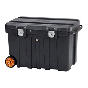"37"" Wide Plastic Mobile Job Site Chest"