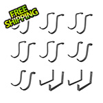MonsterRax Hook Accessory Package - Hammertone (18-Pack)