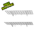 "SafeRacks 48"" x 18"" Wall Shelves (2-Pack)"