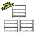 Gladiator GarageWorks 77-Inch Tool-Free Rack Shelving (3-Pack)