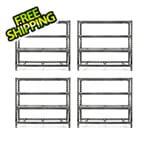 Gladiator GarageWorks 77-Inch Tool-Free Rack Shelving (4-Pack)