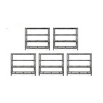 Gladiator GarageWorks 77-Inch Tool-Free Rack Shelving (5-Pack)