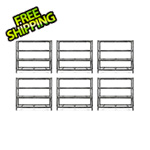 Gladiator GarageWorks 77-Inch Tool-Free Rack Shelving (6-Pack)