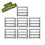 Gladiator GarageWorks 77-Inch Tool-Free Rack Shelving (7-Pack)