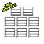 Gladiator GarageWorks 77-Inch Tool-Free Rack Shelving (8-Pack)