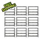 Gladiator GarageWorks 77-Inch Tool-Free Rack Shelving (9-Pack)