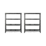 Gladiator GarageWorks 60-Inch Tool-Free Rack Shelving (2-Pack)