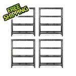 Gladiator GarageWorks 60-Inch Tool-Free Rack Shelving (4-Pack)
