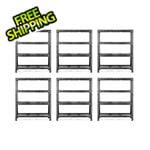 Gladiator GarageWorks 60-Inch Tool-Free Rack Shelving (6-Pack)