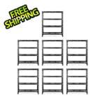 Gladiator GarageWorks 60-Inch Tool-Free Rack Shelving (7-Pack)
