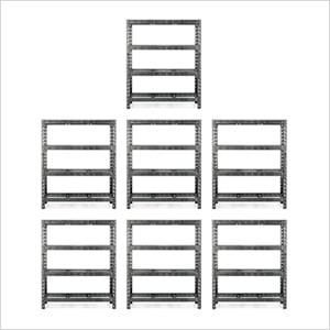 60-Inch Tool-Free Rack Shelving (7-Pack)