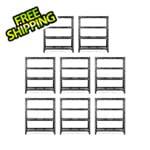 Gladiator GarageWorks 60-Inch Tool-Free Rack Shelving (8-Pack)