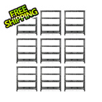 Gladiator GarageWorks 60-Inch Tool-Free Rack Shelving (9-Pack)