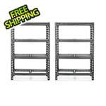 Gladiator GarageWorks 48-Inch Tool-Free Rack Shelving (2-Pack)