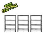 Gladiator GarageWorks 48-Inch Tool-Free Rack Shelving (3-Pack)