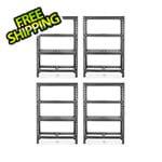 Gladiator GarageWorks 48-Inch Tool-Free Rack Shelving (4-Pack)