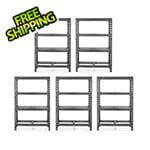 Gladiator GarageWorks 48-Inch Tool-Free Rack Shelving (5-Pack)