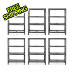 Gladiator GarageWorks 48-Inch Tool-Free Rack Shelving (6-Pack)