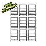 Gladiator GarageWorks 48-Inch Tool-Free Rack Shelving (9-Pack)