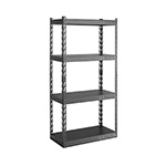 Gladiator GarageWorks 30-Inch EZ Connect Rack with Four 15-Inch Deep Shelves