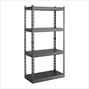 30-Inch EZ Connect Rack with Four 15-Inch Deep Shelves