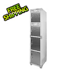Seville Classics UltraHD 4-Tier Locker Gear Cabinet
