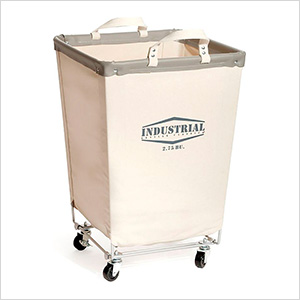 Commercial Heavy-Duty Canvas Laundry Hamper