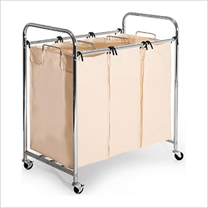 Commercial Chrome-Plated Laundry Sorter