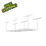 Fleximounts 3' x 8' Overhead Storage Rack (White)