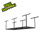 Fleximounts 3' x 8' Overhead Storage Rack (Black)