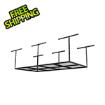 Fleximounts 4' x 8' Overhead Storage Rack (Black)