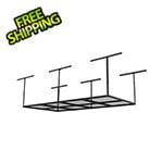 Fleximounts 4' x 8' Overhead Storage Rack (Black)