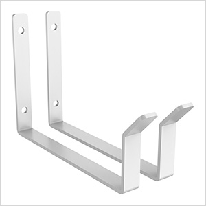 White Utility Hook (2-Pack)