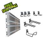 Ulti-MATE Cabinets Slat Wall 10-Piece Garage Organization Kit