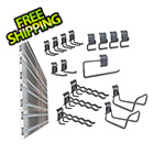 Ulti-MATE Cabinets Slat Wall 20-Piece Garage Organization Kit
